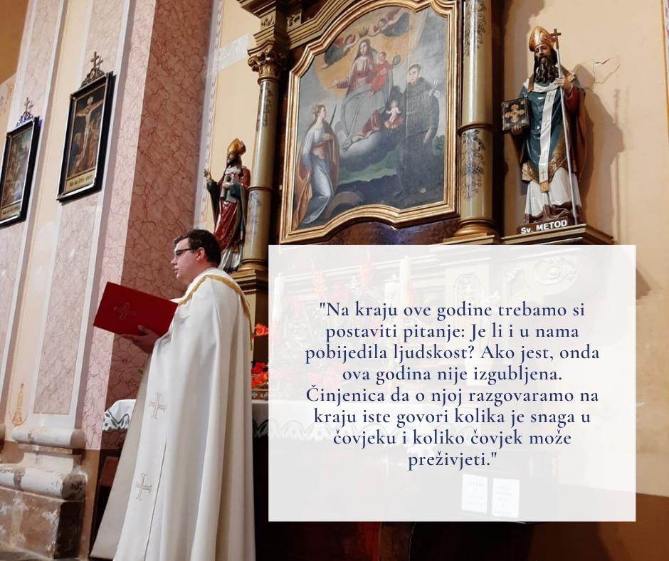 Poruka kapelana Grada Kutjeva na kraju 2020.