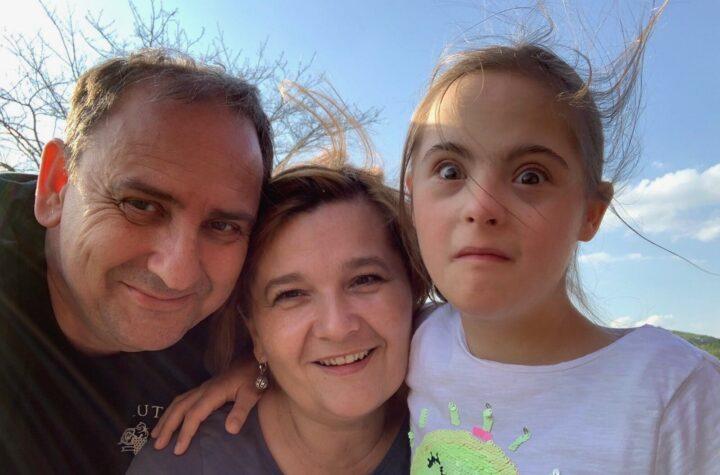 Marija s majkom i ocem.