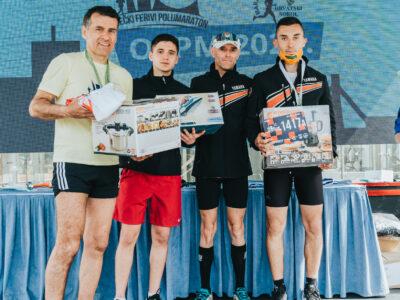 Luka Gjajić sudjelovao na Osječkom Ferivi polumaratonu