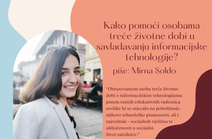 Mali razgovori - veliki poticaji, Mirna Soldo