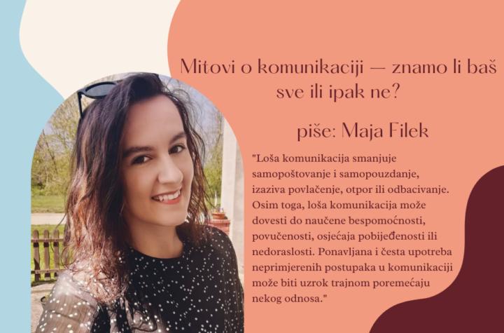 Maja Filek - mitovi o komunikaciji