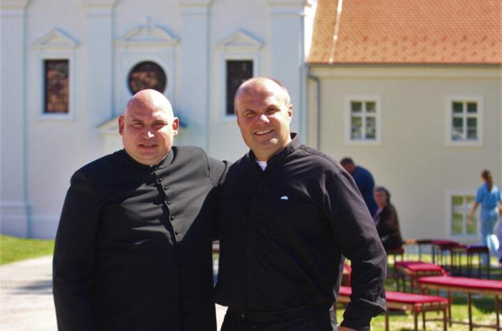 don Damir Stojić i vlč. Ivan Štivičić - Kutjevo