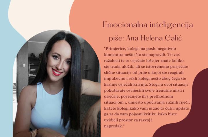 Ana Helena Galić - emocionalna inteligencija